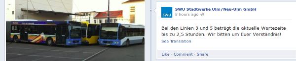 streik ulm swu