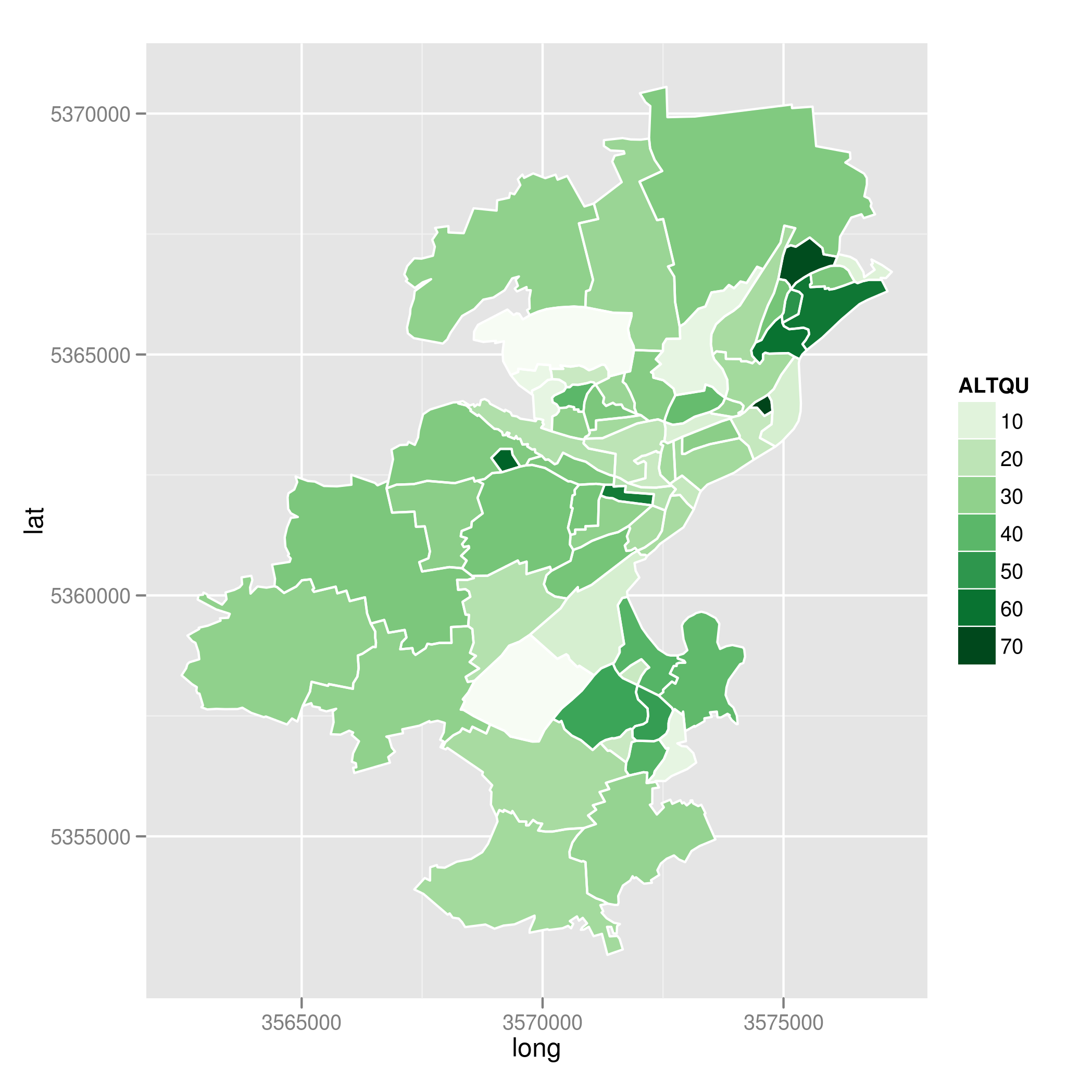 Schoenere Karten mit R und ggplot2 | stk