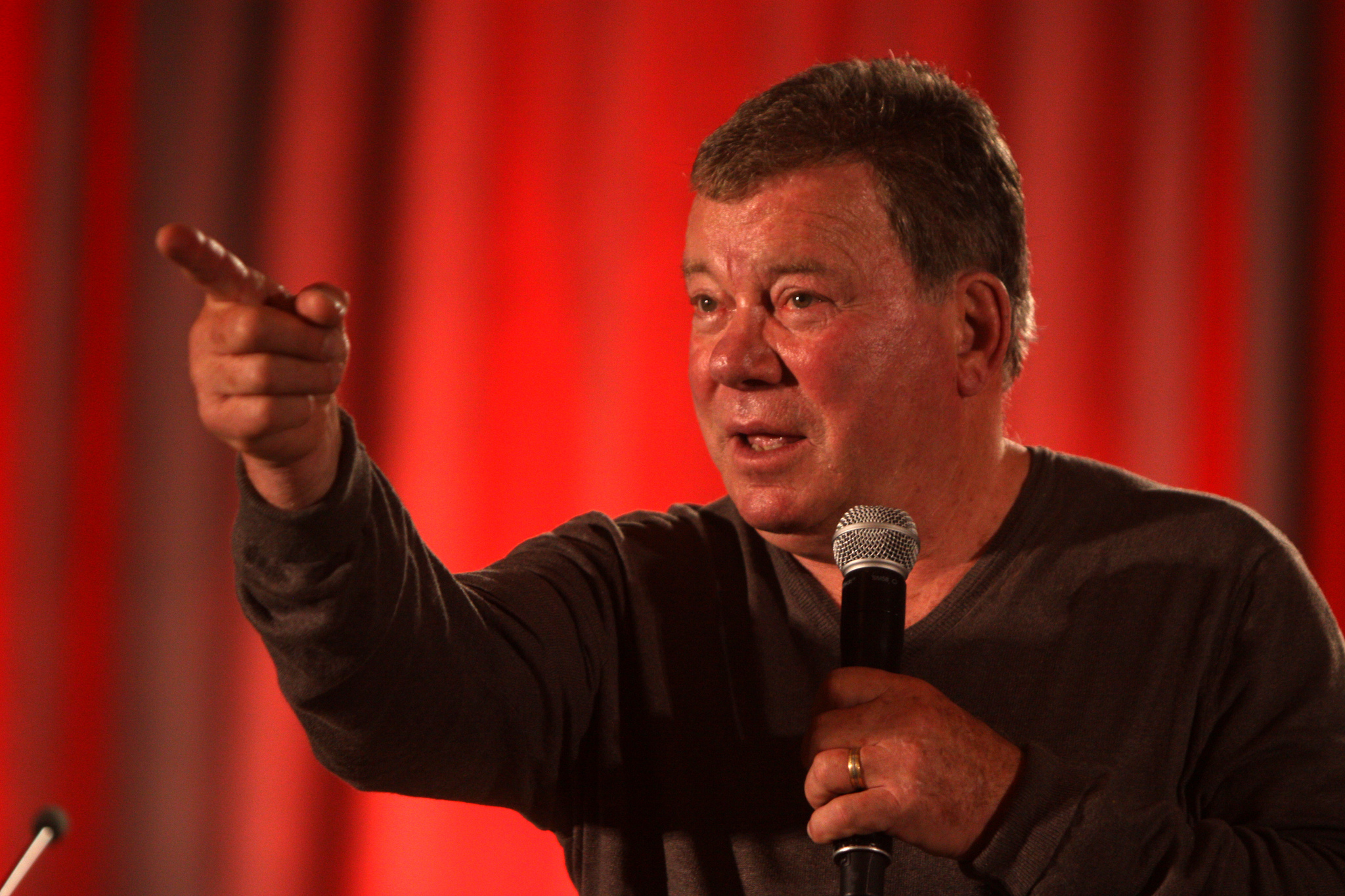 William Shatner by Gage Skidmore. CC-BY-SA 2.0